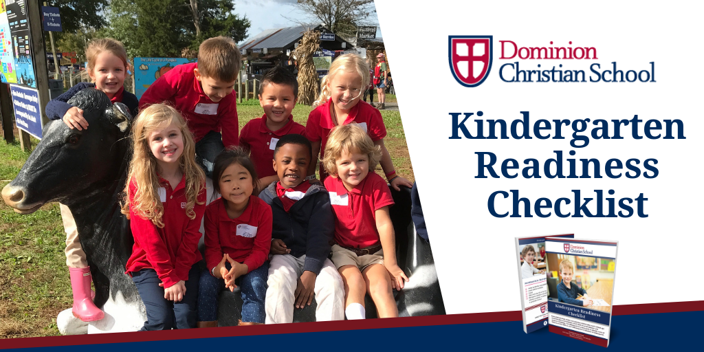 Kindergarten Readiness Checklist | Dominion Christian School