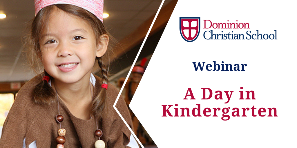 A Day in Kindergarten at Dominion Christian School