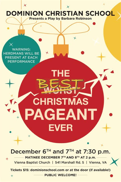 The Best Christmas Pageant Ever - Play